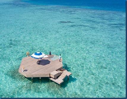 Kandima - house reef platform